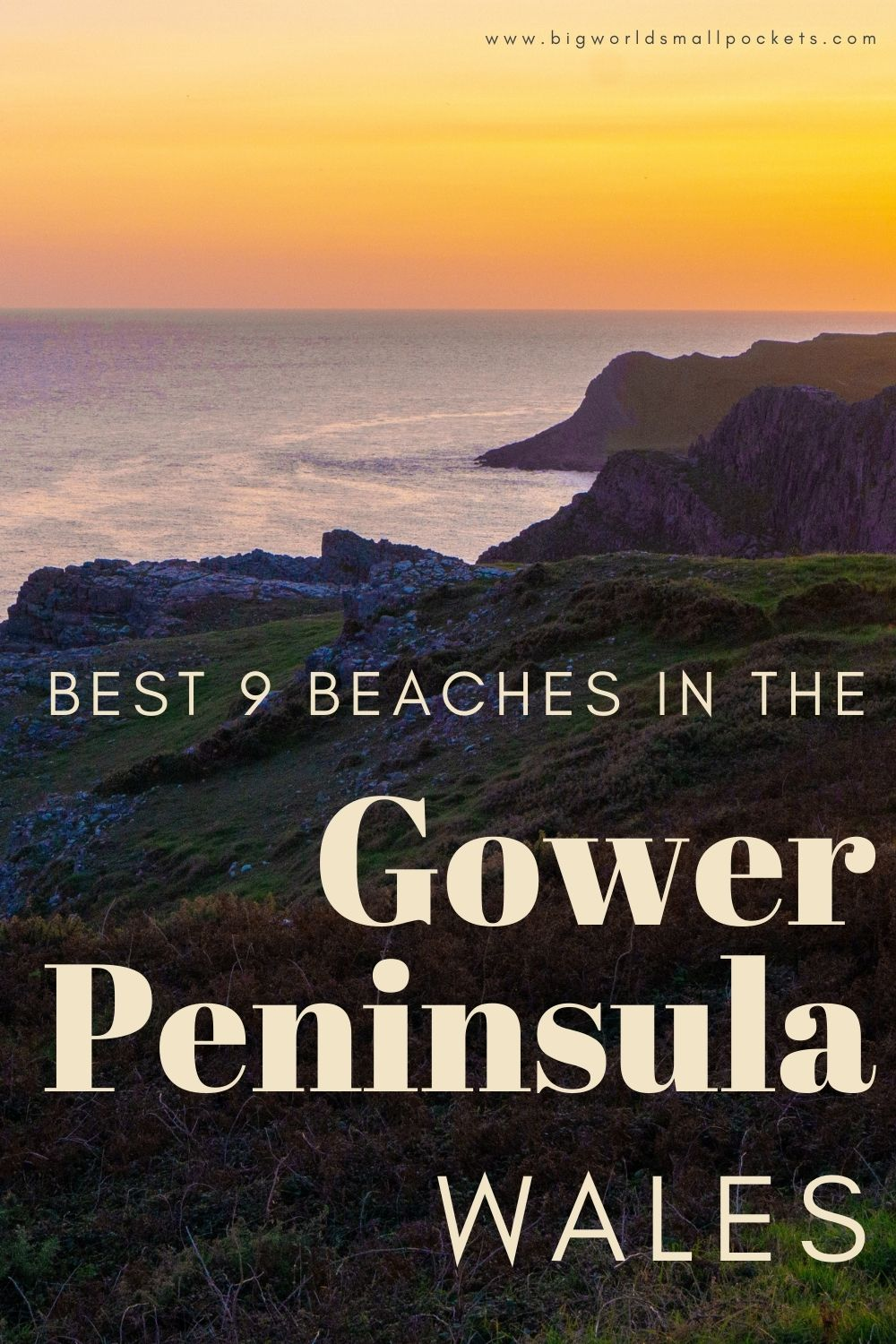 Best 9 Beaches on the Gower Peninsula, Wales