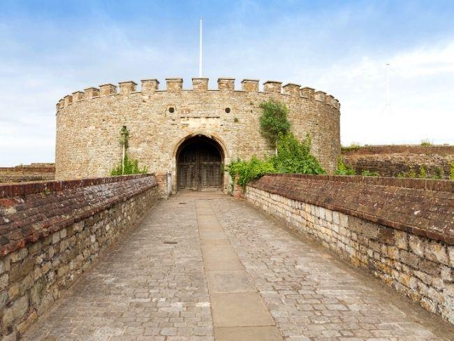 England, Kent, Deal Castle