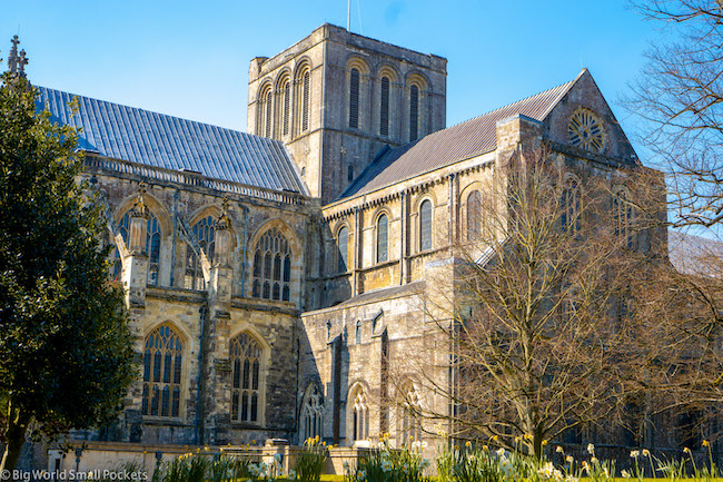England, Winchester, Cathedral