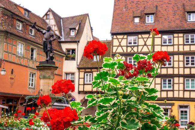 France, Alsace, Colmar Buildings