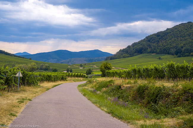 France, Alsace, Cycle Route