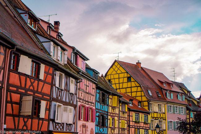 France, Alsace, Houses