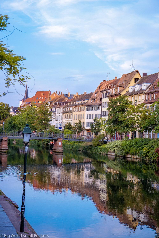 France, Alsace, Strasbourg River