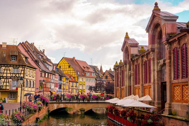 France, Alsace, Strasbourg to Colmar