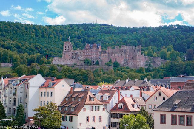 Germany, Heidelberg, Castle Above City