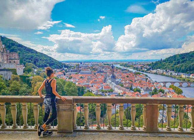 Germany, Heidelberg, Me