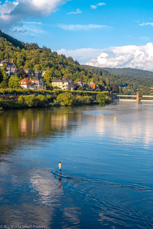 Germany, Heidelberg, SUP