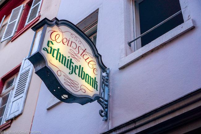 Germany, Heidelberg, Sign