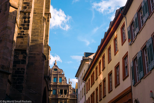 Germany, Heidelberg, Street