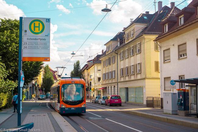 Germany, Heidelberg, Tram