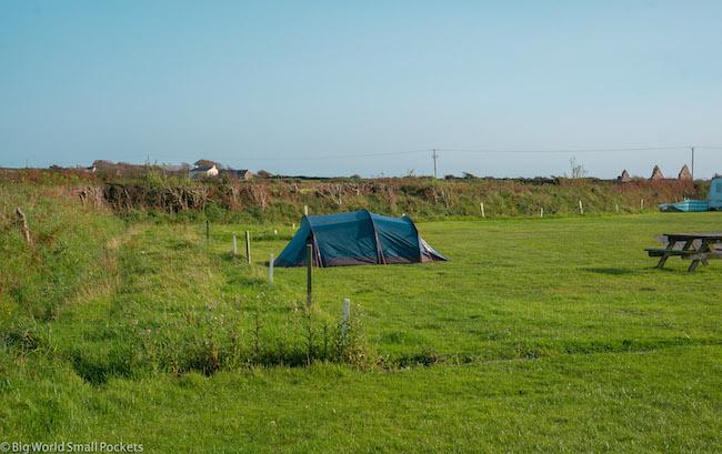 Gower Peninsula, Pitton Cross, Camping