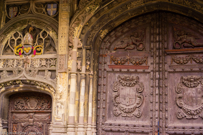 Kent, Canterbury, Cathedral Door
