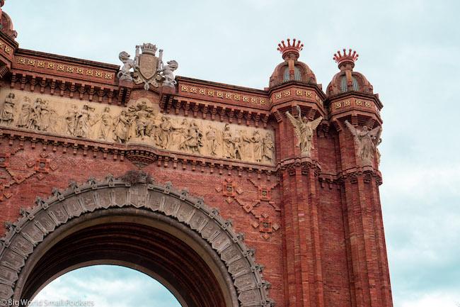 Spain, Barcelona, Arco de Triunfo