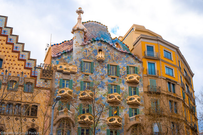 Spain, Barcelona, Casa Mila