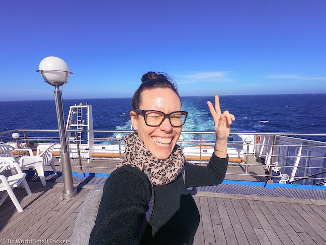 Spain to Morocco, Ferry, Me