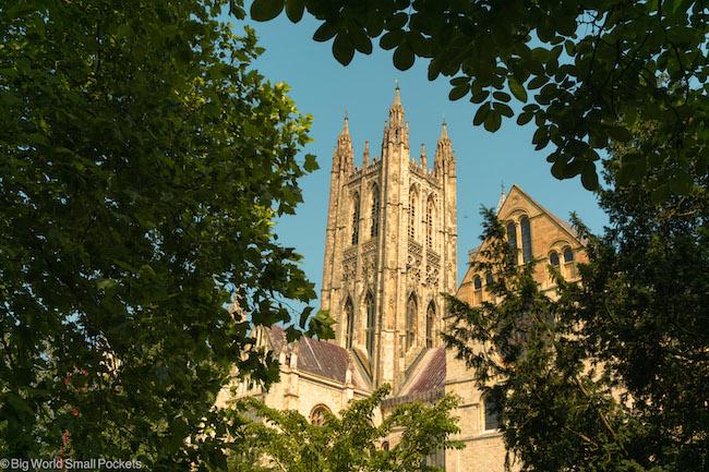 UK, England, Canterbury Cathedral
