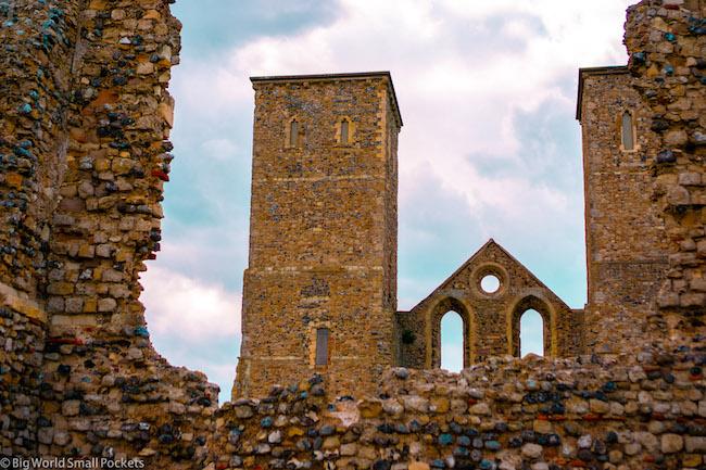 UK, Kent, Reculver Towers