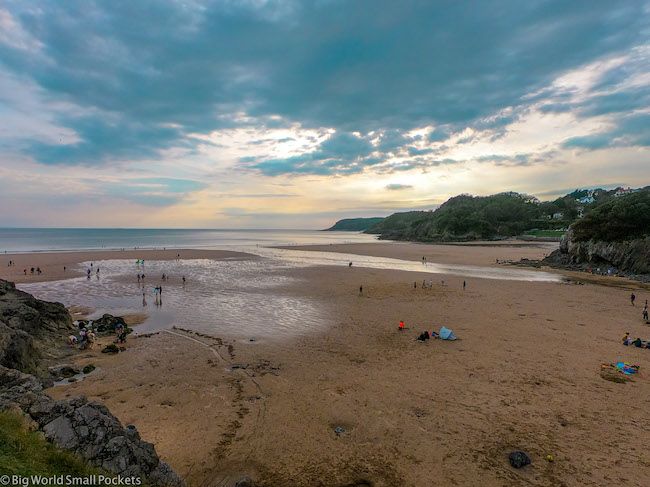 Wales, Gower, Caswell Bay