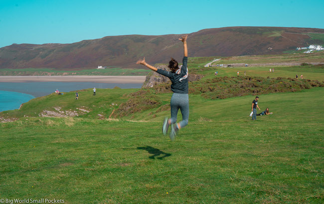 Wales, Gower, Me