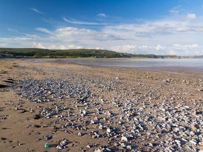 Wales, Gower, Oxwich Bay
