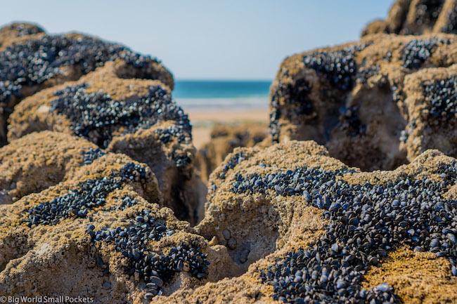 Wales, Gower Peninsula, Mewslade Bay