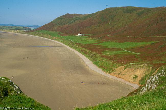Wales, Gower, Rhossili Walks