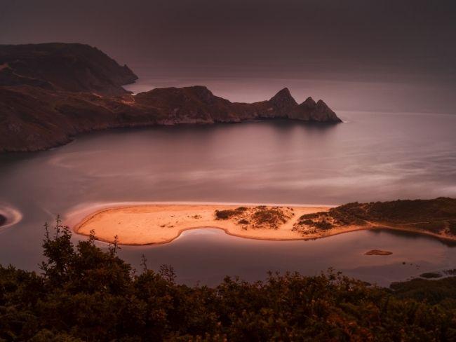 Wales, Gower, Three Cliffs Bay