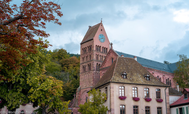 France, Alsace, Clock Tower