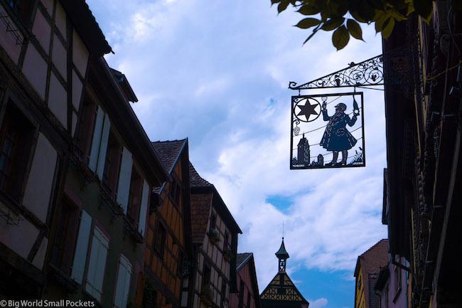 France, Alsace, Sign