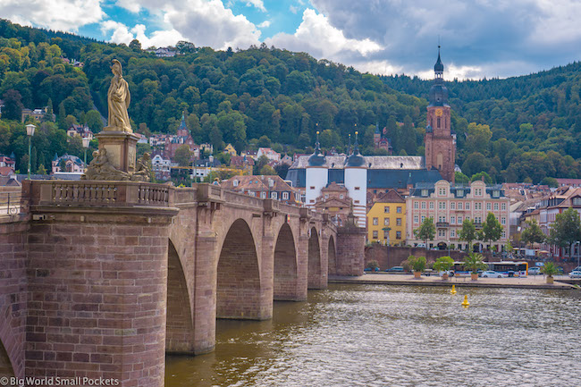 Germany, Heidelberg, Historic Bridge