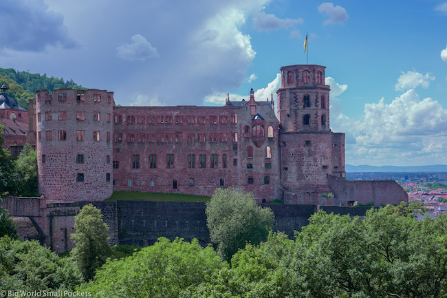 Germany, Heidelberg, Historic Castle