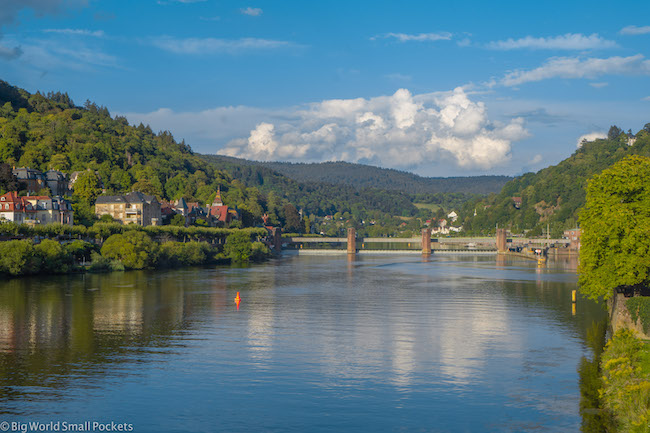 Germany, Heidelberg, Riverside Neckar