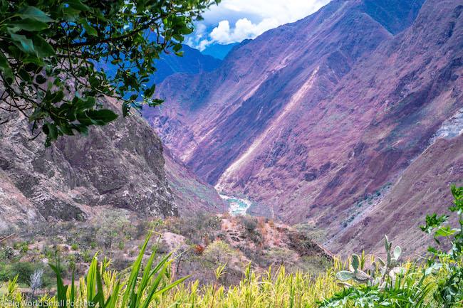 Peru, Choquequirao Trek, Mountains