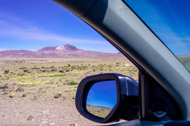 Peru, Colca Canyon, Car Window