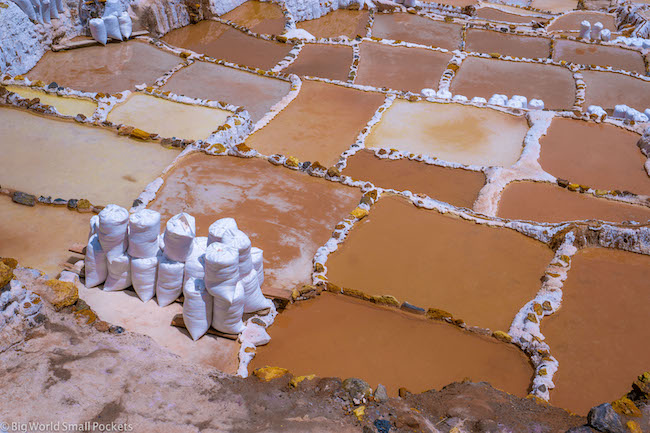 Peru, Sacred Valley, Maras Salt Mines