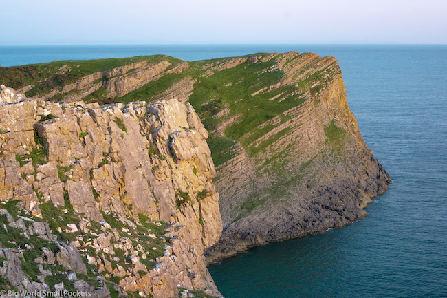 Wales, Gower, Cliff Face
