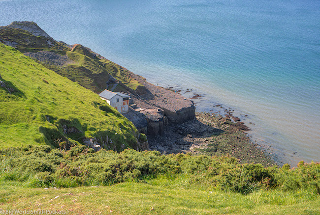 Wales, Gower, Coastline