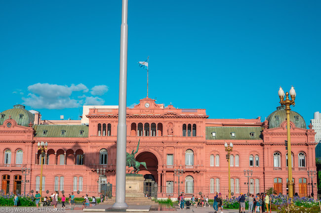 Argentina, Buenos Aires, Goverment Building