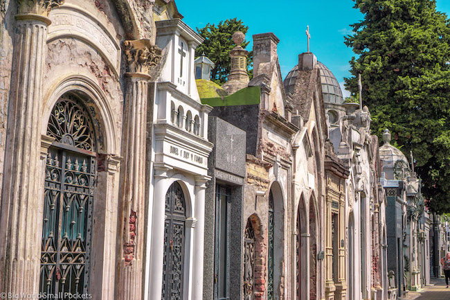 Argentina, Buenos Aires, Recoleta Cemetery