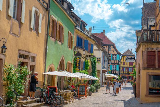 France, Alsace, Village