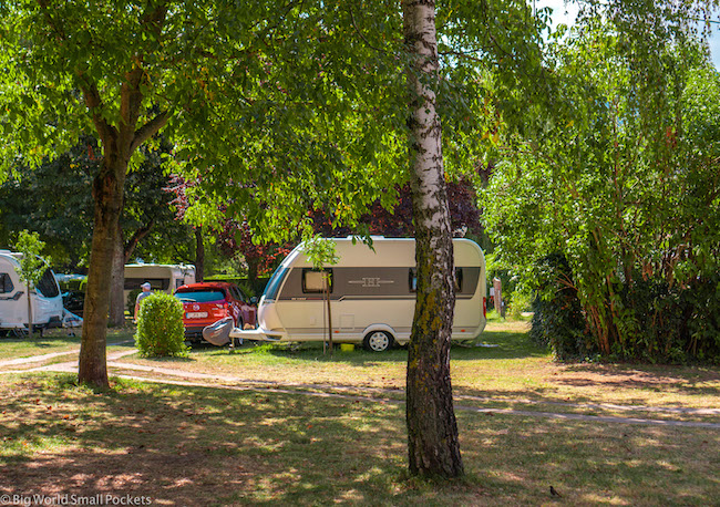 France, Alsace Wine Route, Camping