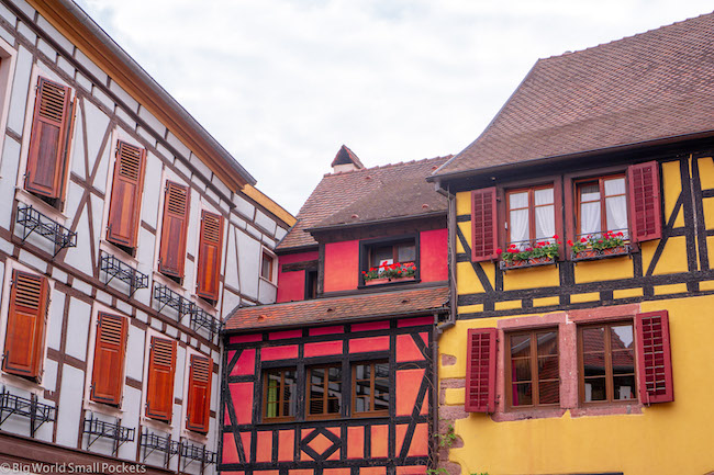 France, Alsace Wine Route, Half-Timbered