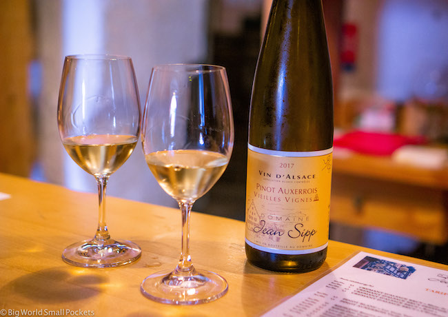 France, Alsace, Wine Tasting