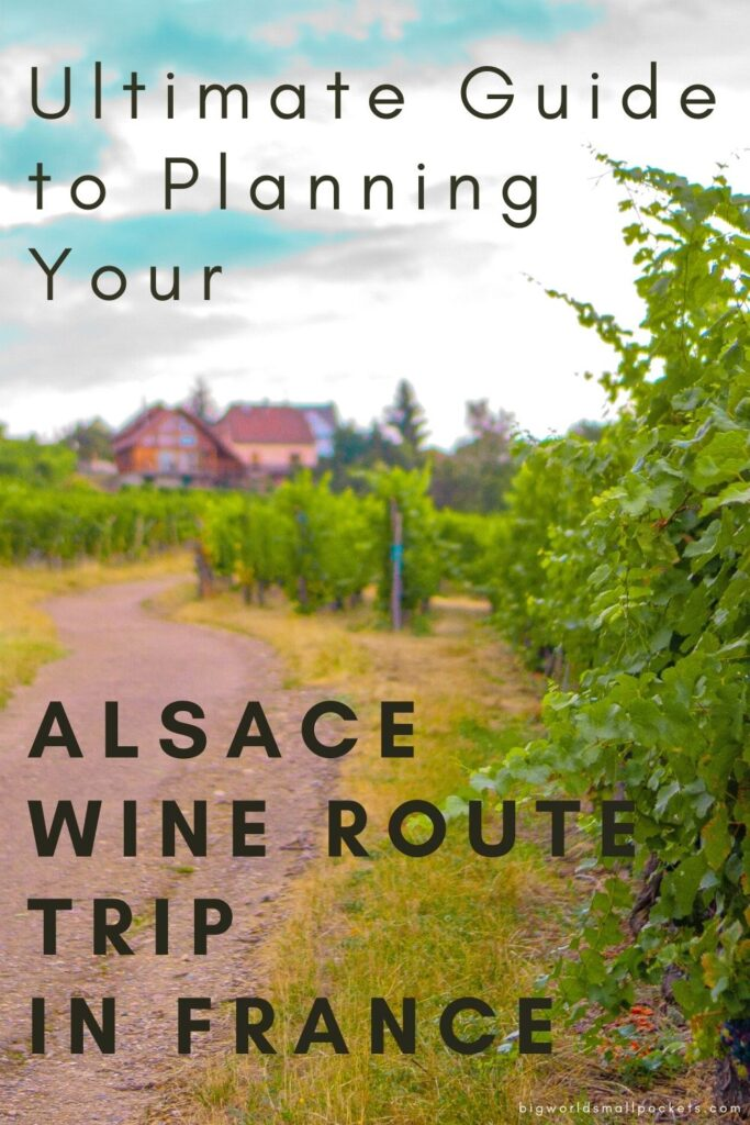 Full Guide to Planning Your Alsace Wine Route Trip in France