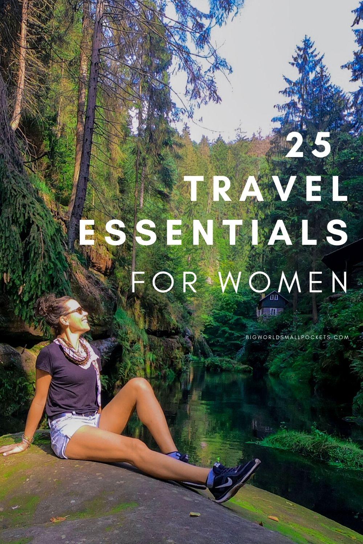 25 Travel Essentials for Women