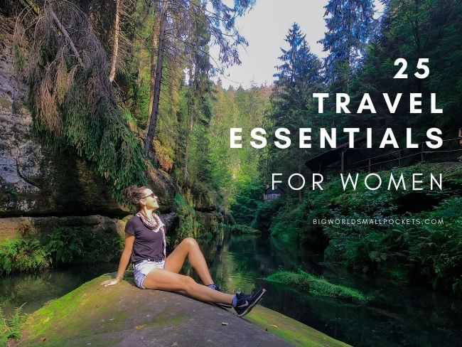 25 Travelling Essentials for Women