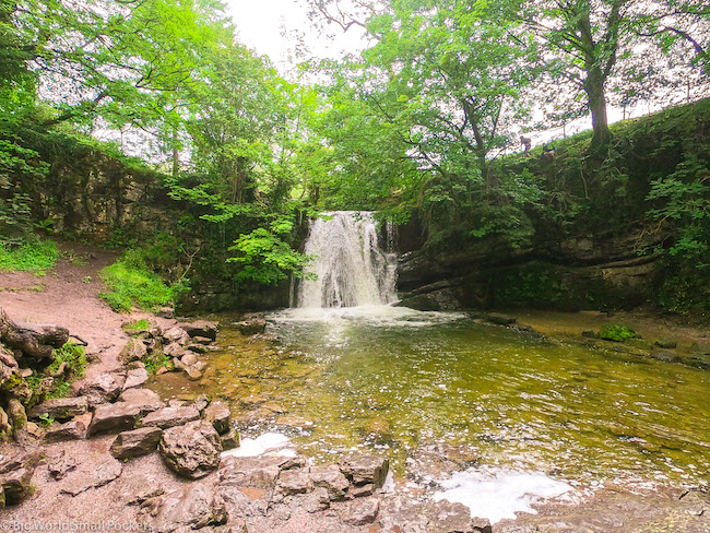 England, Yorkshire, Janet's Foss