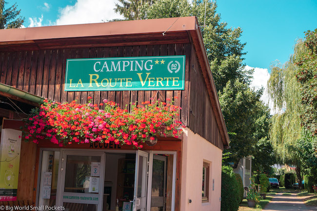 Fracne, Alsace, Camping La Route Verte