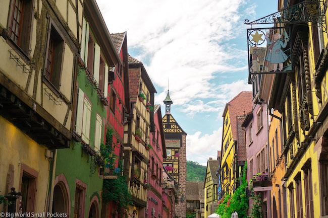France, Alsace, Medieval Village