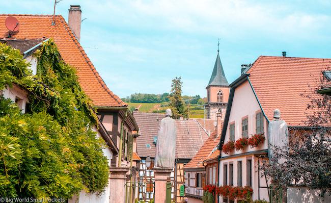 France, Alsace, Quaint Village